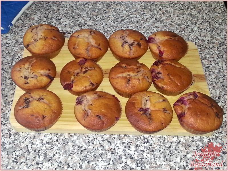 Fertige Muffin