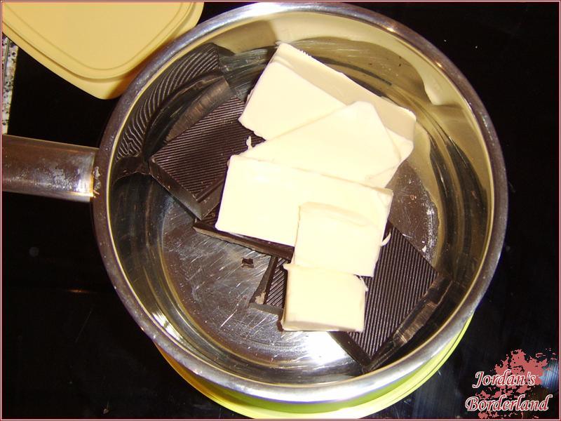 Butter & Schokolade schmelzen