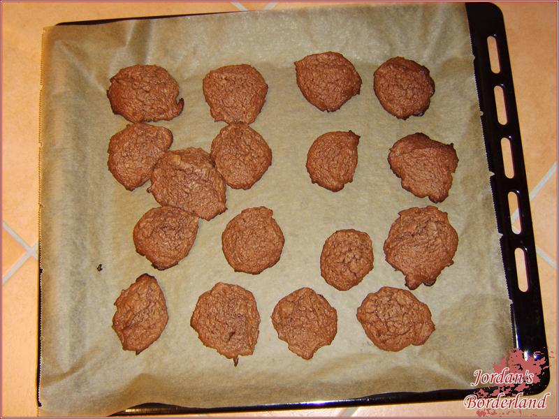 Fertig gebackene Kekse