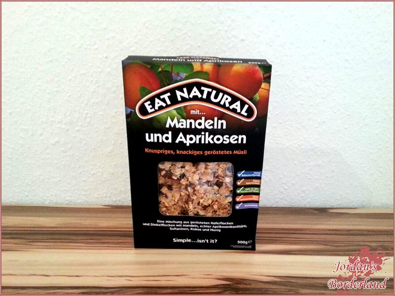 Eat Natural Müsli mit Mandeln und Aprikosen € 5,99 (500 g)