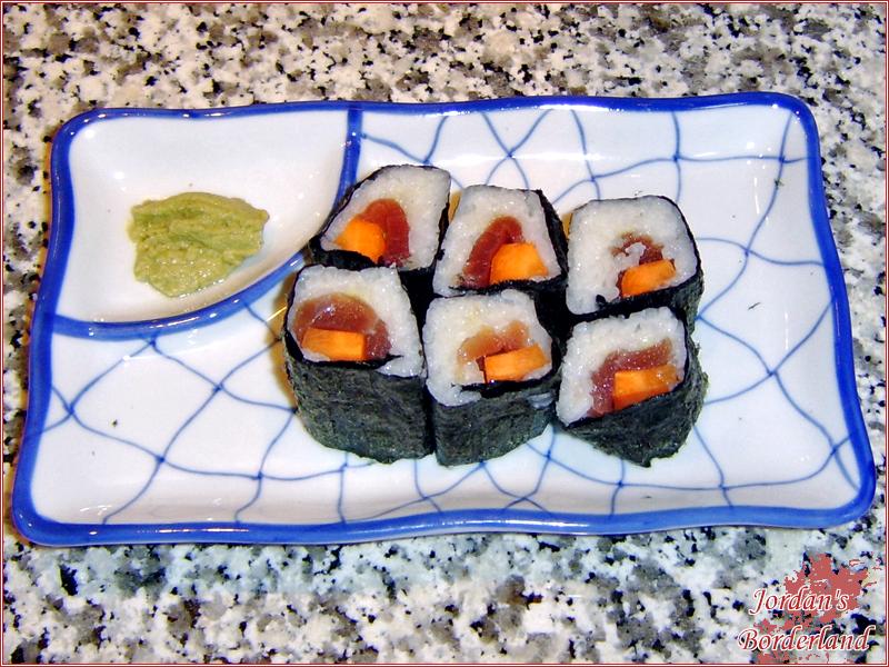 Futo-Maki mit Thunfisch & Kartoffe