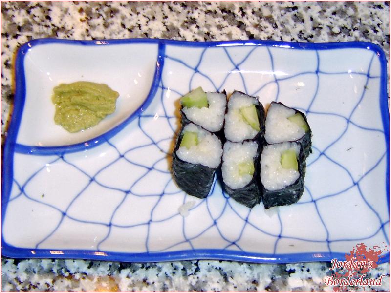 Hoso-Maki mit Gurke