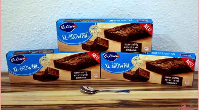 XL-Brownie von Bahlsen
