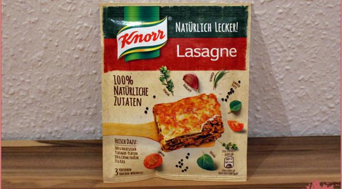KNORR Natürlich Lecker! Lasagne