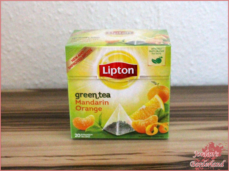 Lipton Green Tea Mandarin-Orange