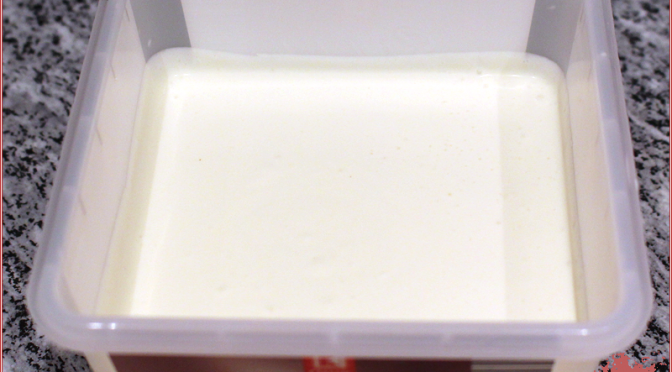 Grundrezept Milcheis