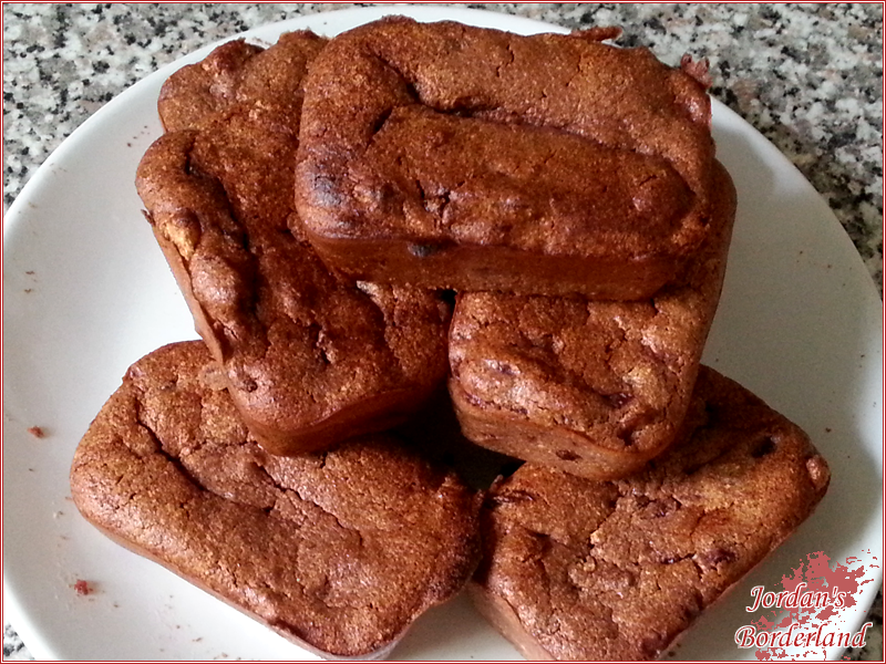 Minikuchen Kirsch-Grieß-Schokolade