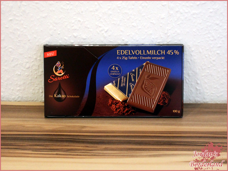 SAROTTI Tafelschokolade