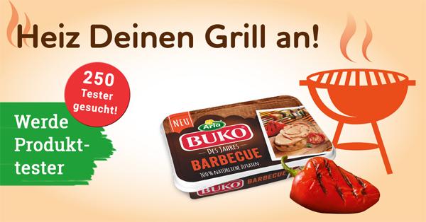 Heizt den Grill an und testet den neuen Arla Buko® des Jahres!