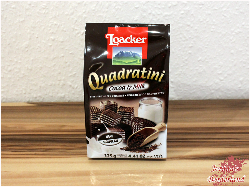 Loacker Quadratini Cacao & Milk