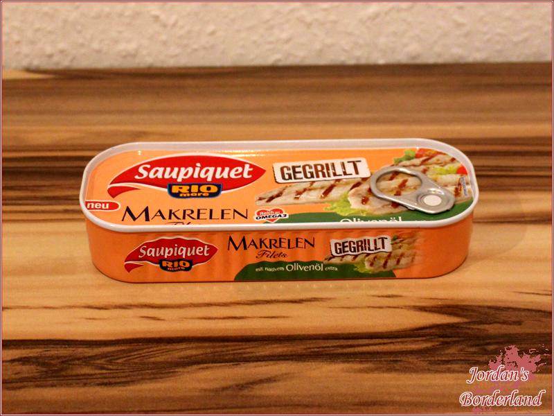 Saupiquet Gegrillte Makrelen-Filets