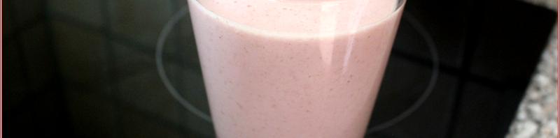 Erdbeer-Hafer-Shake