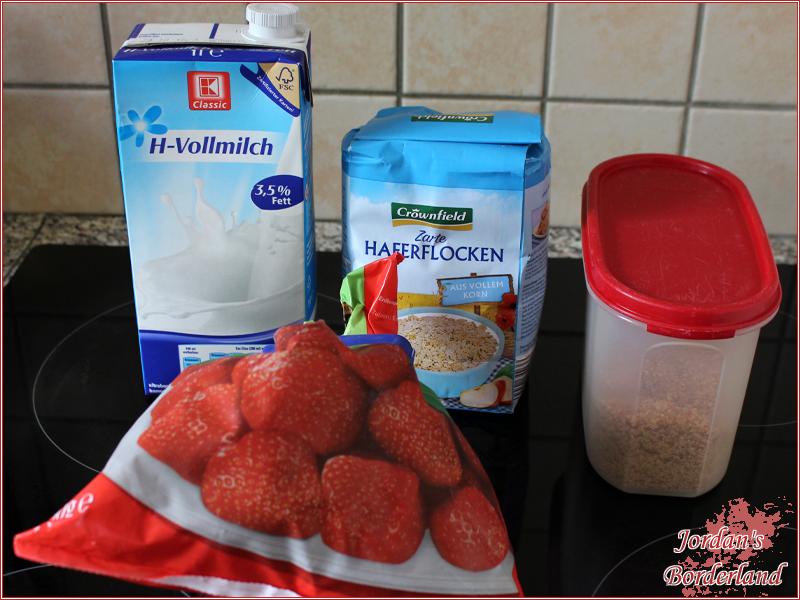 Erdbeeren Porridge