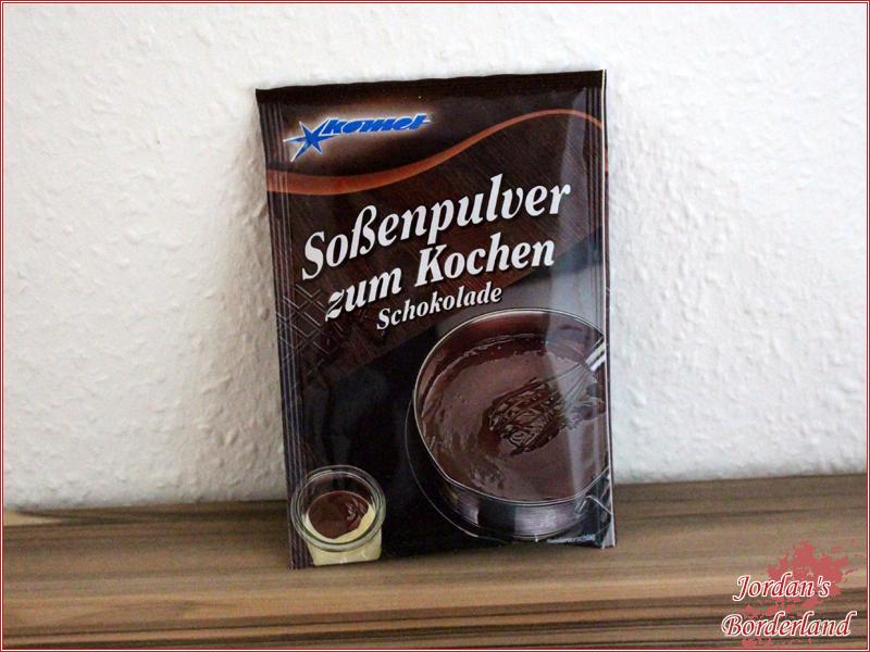 """Komet Soßenpulver zum Kochen """"Schokolade"""""""