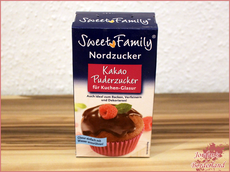 SweetFamily Kakao-Puderzucker