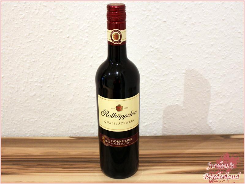 Rotkäppchen Qualitätswein Dornfelder Rotwein