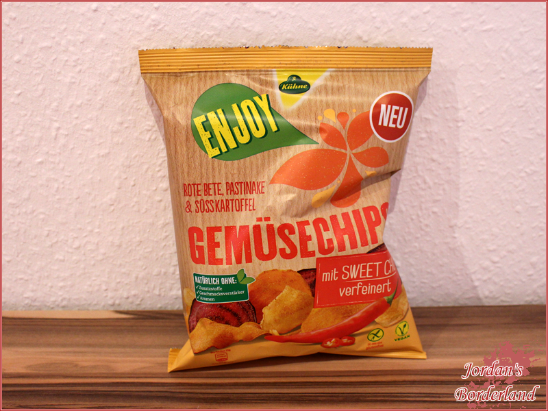 "Kühne Enjoy Gemüsechips ""Sweet Chili"""