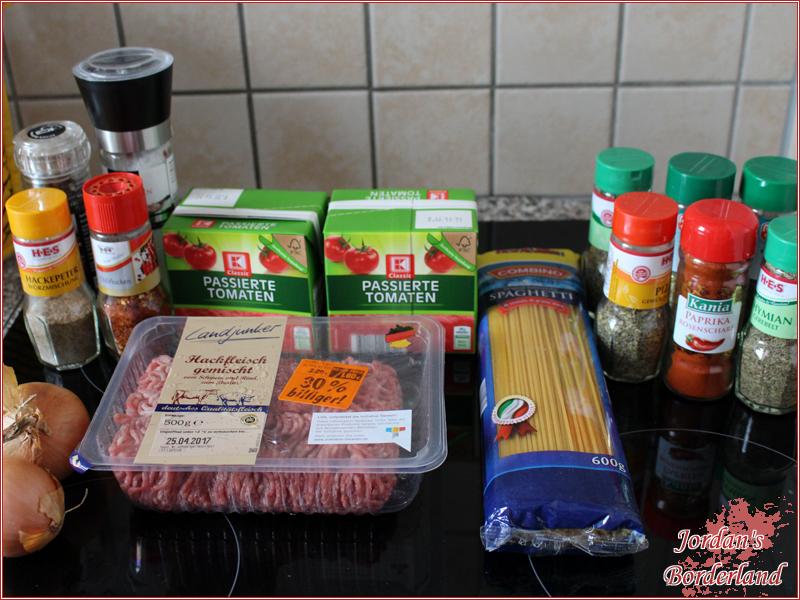 Hackfleischbällchen mit Mozzarella überbacken