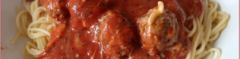 [Rezepte] Hackfleischbällchen mit Mozzarella überbacken