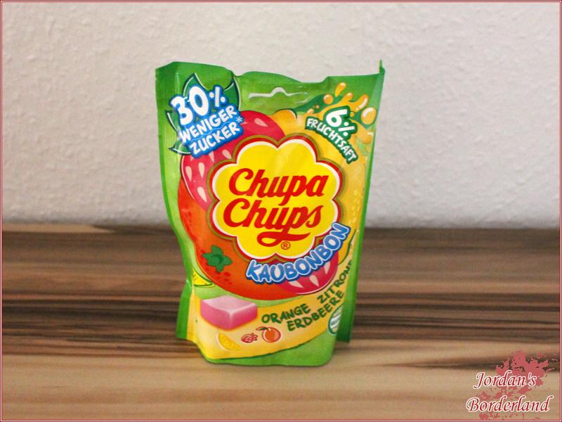 "Chupa Chups Kaubonbon ""Orange Zitrone Erdbeere"""
