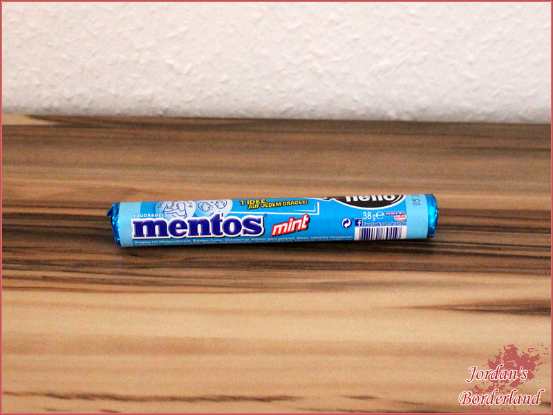 "Mentos Say Hello ""Mint"""
