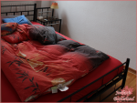 Schlafzimmer danach