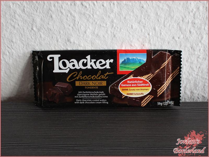 Loacker Chocolat Fondente Dark Noir