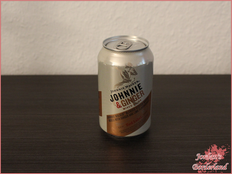Johnnie Walker & ginger