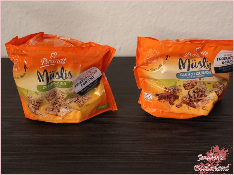 Brandt Müslis Kakao + Quinoa & Brandt Müslis Kernig + Chia