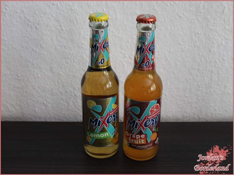 MiXery Alkoholfrei Guarana Lemon& MiXery Alkoholfrei Guarana Grapefruit