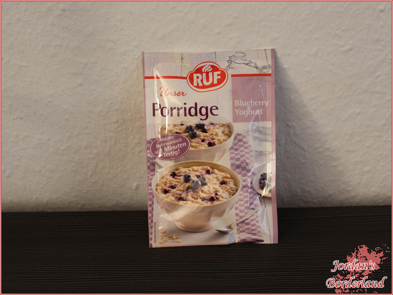 RUF Unser Porridge Blueberry Yoghurt