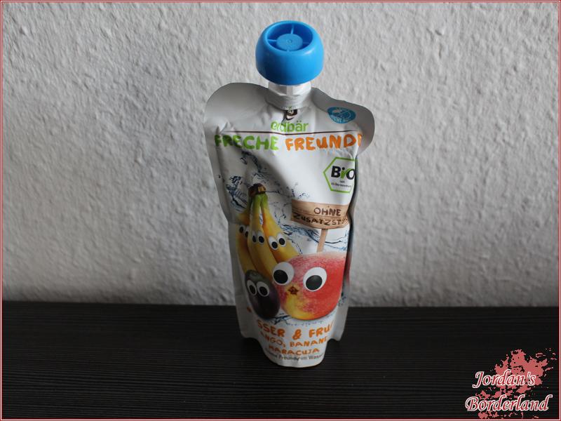 Freche Freunde Wasser und Frucht Mango, Banane und Maracuja